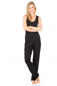 Hanro | Sweatpants Yoga | zwart   | Afbeelding 3