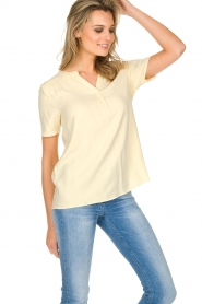 Knit-ted |  Top Eef | Yellow  | Picture 5