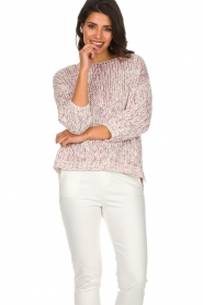 Aaiko |  Sweater Garcy | pink  | Picture 2