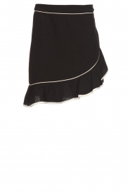 Aaiko |  Volant skirt Ceci | black  | Picture 1