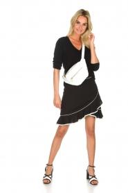 Aaiko    Volant skirt Ceci   black    Picture 3