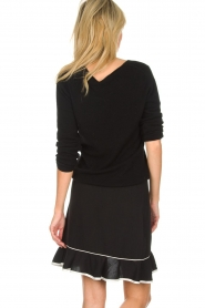 Aaiko |  Volant skirt Ceci | black  | Picture 5