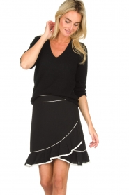 Aaiko    Volant skirt Ceci   black    Picture 2