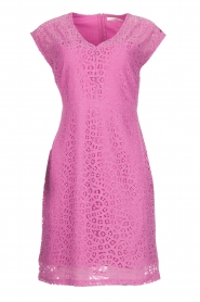 Aaiko | Lace dress Pya | pink  | Picture 1