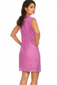 Aaiko | Lace dress Pya | pink  | Picture 5