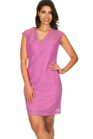 Aaiko | Lace dress Pya | pink  | Picture 2