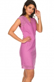 Aaiko | Lace dress Pya | pink  | Picture 4