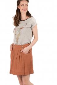 Mini skirt Juice | terracotta