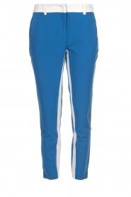 Aaiko |  Trousers with stripes Parienny | blue  | Picture 1