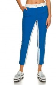 Aaiko |  Trousers with stripes Parienny | blue  | Picture 2
