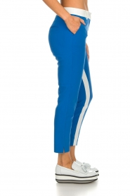 Aaiko |  Trousers with stripes Parienny | blue  | Picture 4