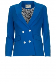 Aaiko |  Double-breasted blazer Cella | blue  | Picture 1