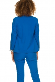 Aaiko |  Double-breasted blazer Cella | blue  | Picture 6