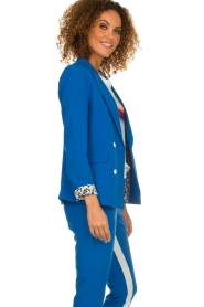 Aaiko |  Double-breasted blazer Cella | blue  | Picture 5