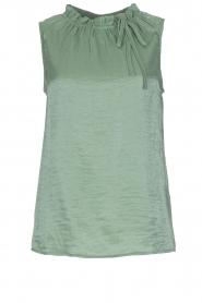 Knit-ted | Top Karo | groen  | Afbeelding 1
