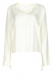 Knit-ted | Blouse Evy | White  | Afbeelding 1