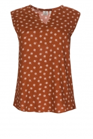 Knit-ted |  Top Eliane |  Brown  | Picture 1