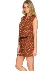 Knit-ted |  Top Eliane |  Brown  | Picture 4