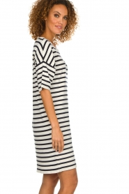 Set |  Striped dress Juna | white  | Picture 4