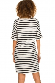 Set |  Striped dress Juna | white  | Picture 5