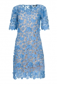 Set |  Lace dress Quirine | blue  | Picture 1