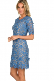 Set |  Lace dress Quirine | blue  | Picture 4