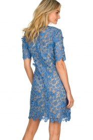 Set |  Lace dress Quirine | blue  | Picture 5