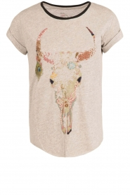 T-shirt Tova Cow | grey