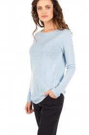 Hunkydory | Gebreide trui Watson | lichtblauw  | Afbeelding 4