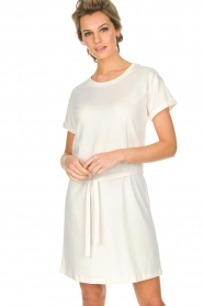 Knit-ted |  Dress Jael | broken white  | Picture 2