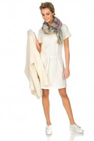 Knit-ted |  Dress Jael | broken white  | Picture 3