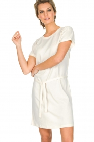 Knit-ted |  Dress Jael | broken white  | Picture 4