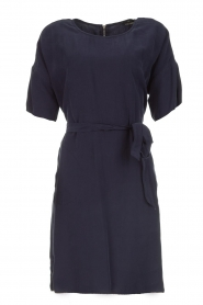 Set |  Dress with matching belt Christa | blue  | Picture 1