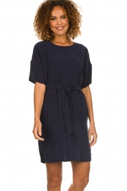 Set |  Dress with matching belt Christa | blue  | Picture 2