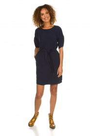Set |  Dress with matching belt Christa | blue  | Picture 3