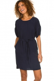 Set    Dress with matching belt Christa   blue    Picture 4