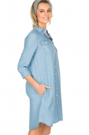 Knit-ted | Spijkerjurk Noor | blauw  | Afbeelding 5