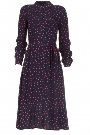 Set |  Dress with  polka dots | blue  | Picture 1