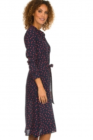 Set |  Dress with  polka dots | blue  | Picture 5