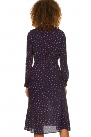 Set |  Dress with  polka dots | blue  | Picture 6
