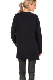 Woolen sweater Bevin | blue