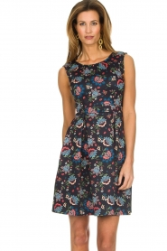 Set |  Dress with floral print Lea | blue  | Picture 2