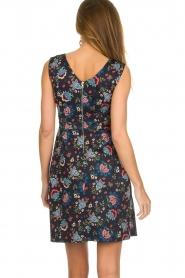 Set |  Dress with floral print Lea | blue  | Picture 5