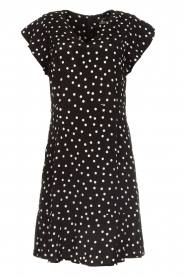Set |  Dress with polka dots Joanne | black  | Picture 1