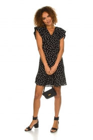Set |  Dress with polka dots Joanne | black  | Picture 3