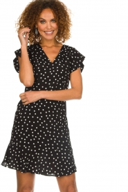 Set |  Dress with polka dots Joanne | black  | Picture 4