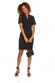 Set |  Lace dress Laurelie | navy  | Picture 3