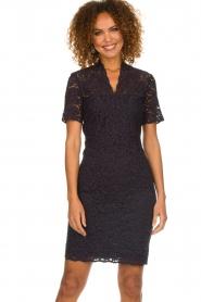 Set |  Lace dress Laurelie | navy  | Picture 2