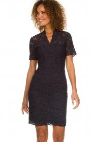 Set |  Lace dress Laurelie | navy  | Picture 4