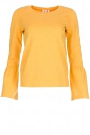 Knit-ted | Trui Jill | geel  | Afbeelding 1